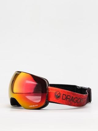 Bru00fdle na snowboard Dragon X2 (inferno/ll red ion/ll rose)