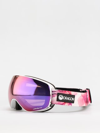 Brýle na snowboard Dragon X2s (merlot/ll purple ion/ll light rose)