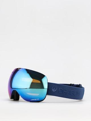 Bru00fdle na snowboard Dragon X1 (navy/ll blue ion/ll amber)