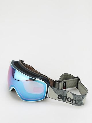 Bru00fdle na snowboard Anon M4 Toric Mfi (ty williams/perceive variable blue)
