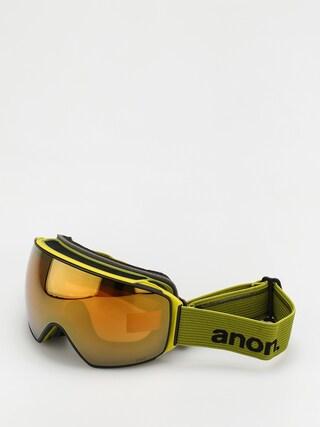 Bru00fdle na snowboard Anon M4 Toric Mfi (green/perceive sunny bronze)