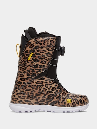 Boty na snowboard DC Search Wmn (leopard print)