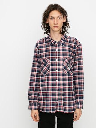 Košile Polar Skate Flannel (navy/red)