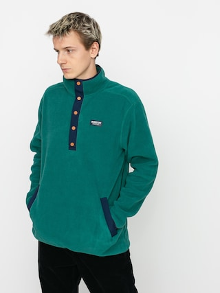 Fleecovu00e1 mikina Burton Hearth Pullover (antique green)