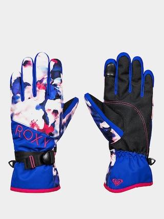 Rukavice Roxy Jetty Gloves Wmn (mazarine blue mind jingle)