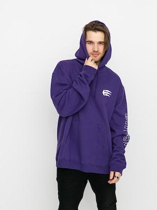 Mikina s kapucí Etnies Joslin HD (purple)