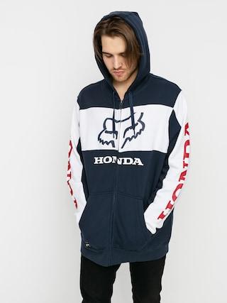 Mikina s kapucí Fox Honda HD (nvy/wht)