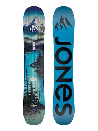 Snowboard Jones Snowboards Frontier (blue/black)