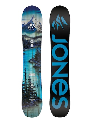 Snowboard Jones Snowboards Frontier (black/blue)