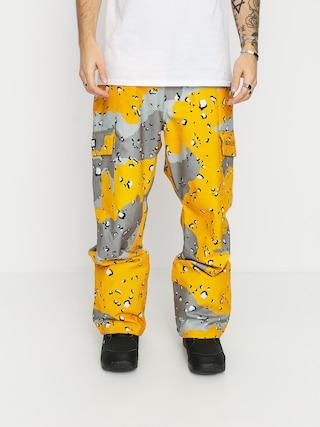 Snowboardovu00e9 kalhoty  DC Banshee (chocolate chip lemon chro camo)