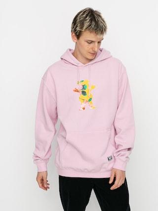 Mikina s kapucu00ed Grizzly Griptape Blossom HD (pink)