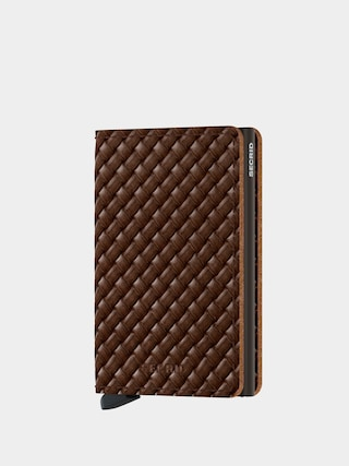 Penu011bu017eenka Secrid Slimwallet (basket brown)