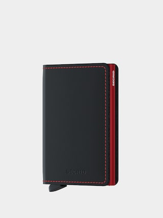 Peněženka Secrid Slimwallet (matte black/red)