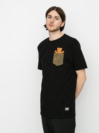 Triu010dko Grizzly Griptape Foliage Pocket Bear (black)