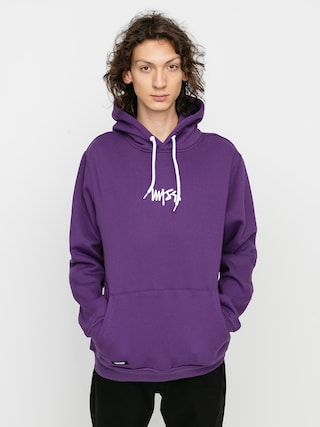 Mikina s kapucu00ed MassDnm Signature Small Logo HD (purple)