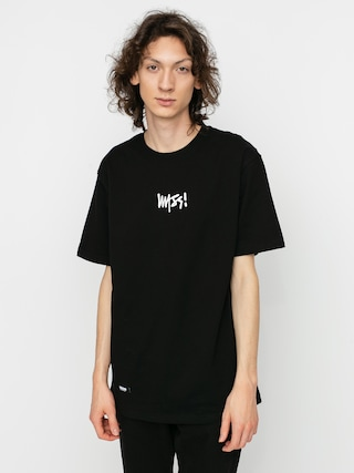 Tričko MassDnm Signature Small Logo (black)