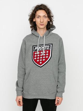 Mikina s kapucu00ed Prosto Prot HD (grey)