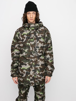 Snowboardovu00e1 bunda Volcom L Ins Gore Tex (army)