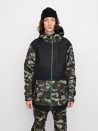 Snowboardovu00e1 bunda Volcom Deadlystones Ins (army)