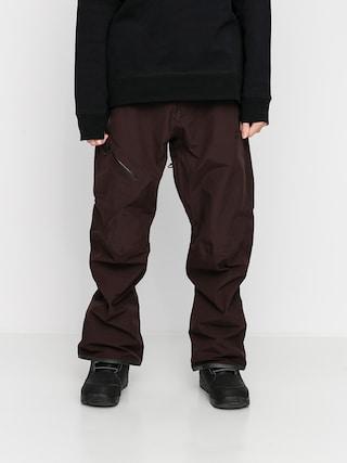Snowboardové kalhoty  Volcom L Gore Tex (black red)