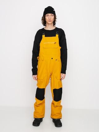 Snowboardové kalhoty  Volcom Roan Bib Overall (resin gold)