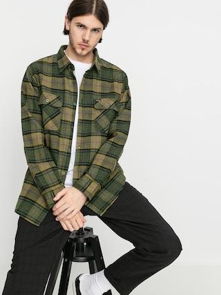 Kou0161ile Brixton Bowery Flannel Ls (evergreen)