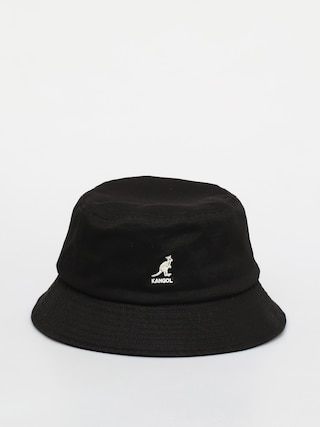 Klobouk Kangol Washed Bucket (black)