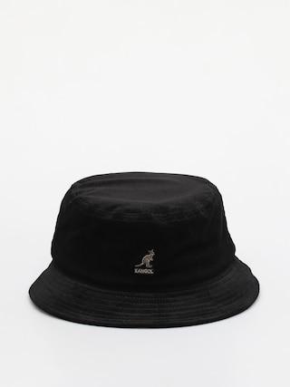 Klobouk Kangol Cord Bucket (black)