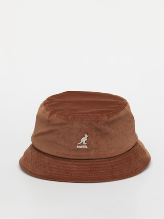 Klobouk Kangol Cord Bucket (wood)