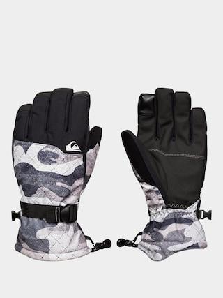 Rukavice Quiksilver Mission Glove (true black gps point)