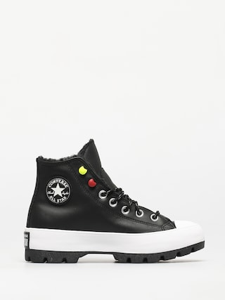 Boty Converse Chuck Taylor All Star Lugged Winter Wmn (black/black/white)