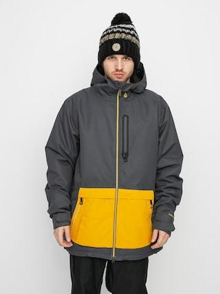 Snowboardovu00e1 bunda Volcom Deadlystones Ins (dark grey)