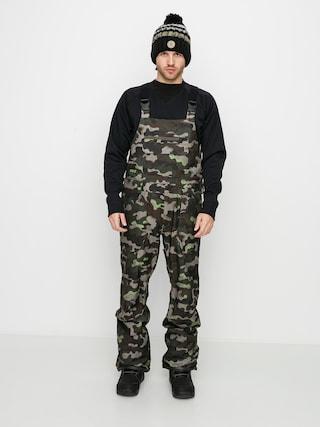 Snowboardové kalhoty  Volcom Roan Bib Overall (army)