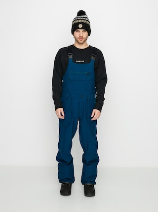 Snowboardovu00e9 kalhoty  Volcom Roan Bib Overall (blue)