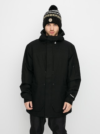 Snowboardovu00e1 bunda Volcom Scortch Ins (black)