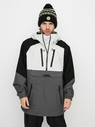 Snowboardovu00e1 bunda Volcom Brighton Pullover (grey)