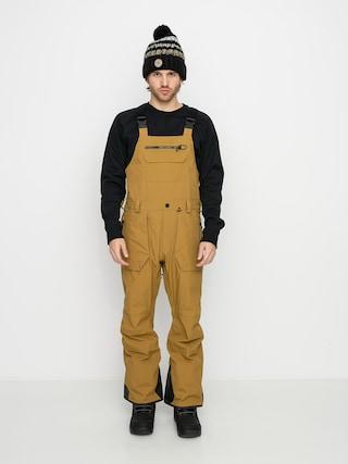 Snowboardovu00e9 kalhoty  Volcom Rain Gore Bib Overall (burnt khaki)