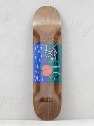 Deska Youth Skateboards Skate Chicks (brown)