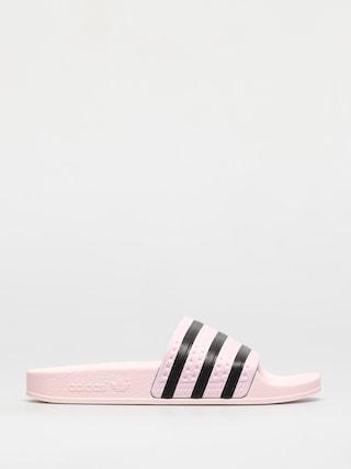 Plu00e1u017eovky adidas Originals Adilette Wmn (clpink/clpink/cblack)