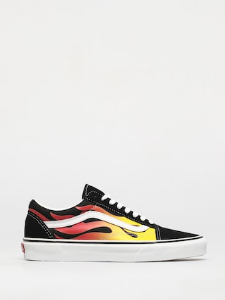 Boty Vans Old Skool (flame/black/black/true white)