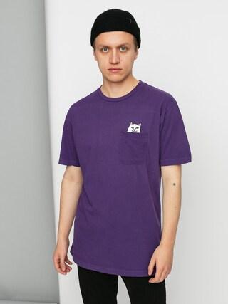 Tričko RipNDip Lord Nermal Pocket (purple)