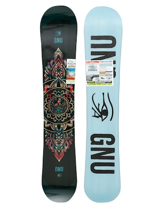 Snowboard Gnu Ladies Choice Wmn (blue/black)