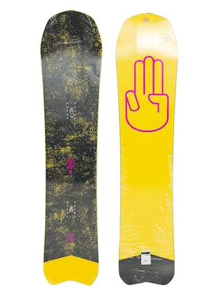 Snowboard Bataleon Party Wave (yellow/pink/black)