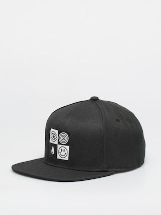 Kšiltovka  Vans x Cult Snapback ZD (black)