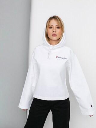 Mikina s kapucí Champion Sweatshirt HD 113186 Wmn (wht)