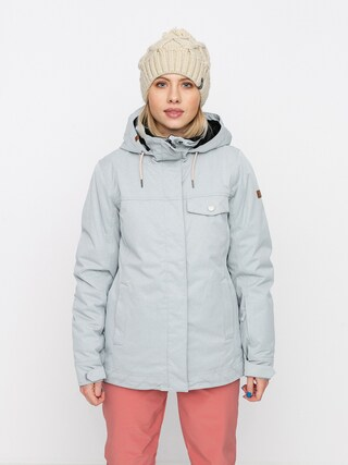 Snowboardovu00e1 bunda Roxy Billie Wmn (heather grey)
