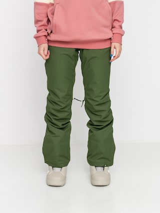 Snowboardovu00e9 kalhoty  Roxy Backyard Wmn (bronze green)