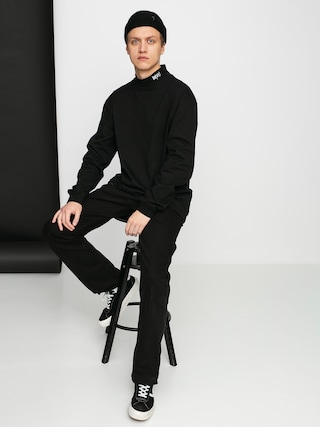 Mikina MassDnm Club Turtleneck (black)