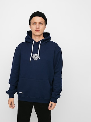 Mikina s kapucu00ed MassDnm Base Small Logo HD (navy)