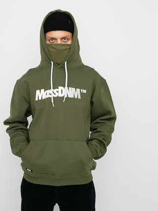 Mikina s kapucí MassDnm Shock HD (khaki)